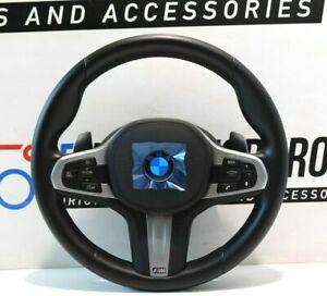 BMW-M-SPORTS-Volant-de-Direction-en-Cuir-Shift-Pagaies-5-039-G30-G31-6-039-G32-8008179