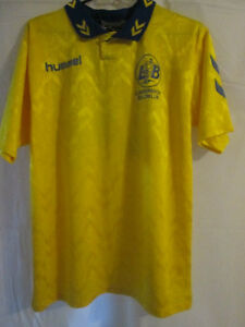 Lunderskov-no-14-match-worn-Home-Football-Shirt-Size-Small-9359