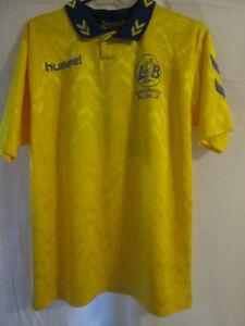 Lunderskov-no-14-match-worn-Home-Football-Shirt-Size-Small-9359