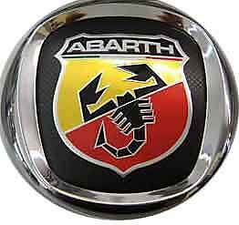 FREGIO-ABARTH-ANTERIORE-DIAM-95-mm-EMBLEM-BADGE