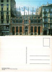 EDITORIAL-MONTANER-I-SIMON-BARCELONA-SPAIN-LLUFS-DOMENECH-I-MONTANER-POSTCARD