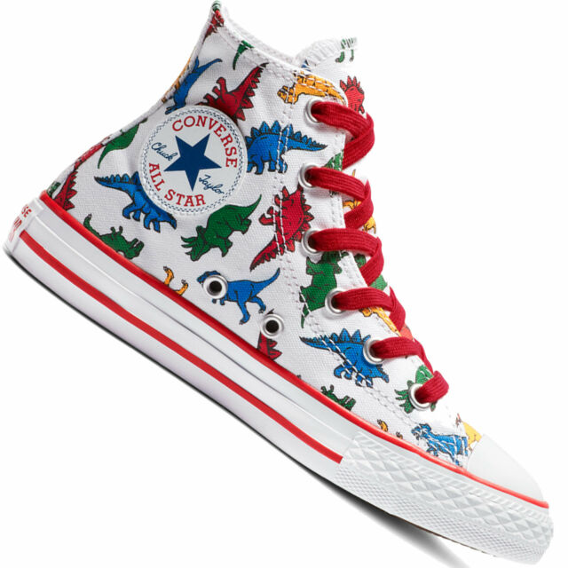 dinosaur converse size 9