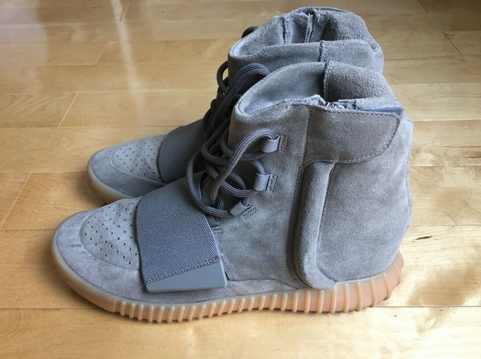 Adidas Adidas Adidas YEEZY Boost 750 Light Grey Gum Size US10.5 (no original box) d6f529