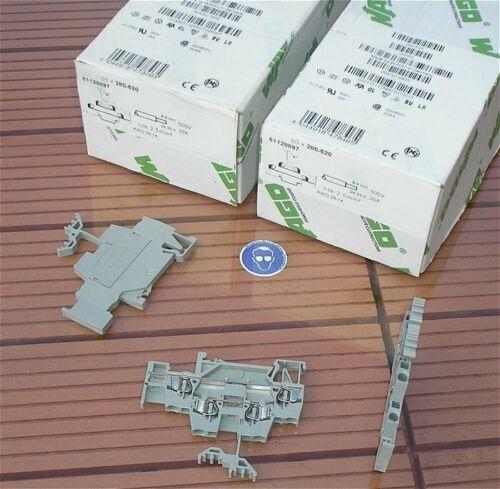 SdfkPlakette ca 50x Klemme Doppelstockklemme 2,5mm² Wago 280-520 4044918478465
