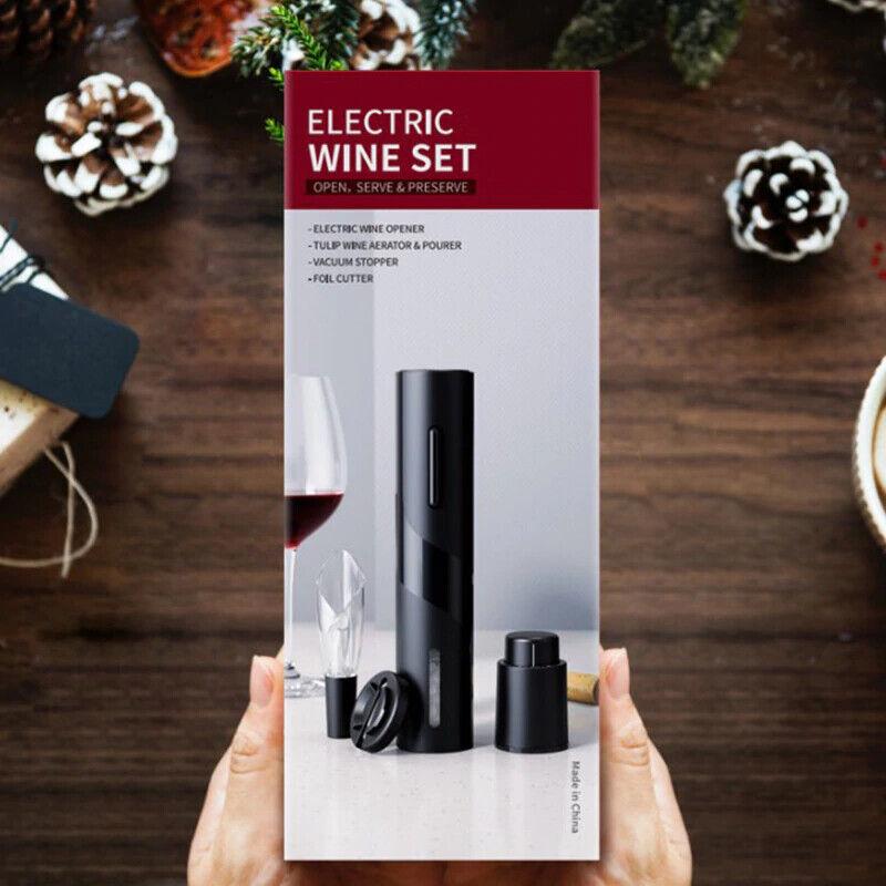 Sacacorchos abridor de botellas de vino eléctrico recargable