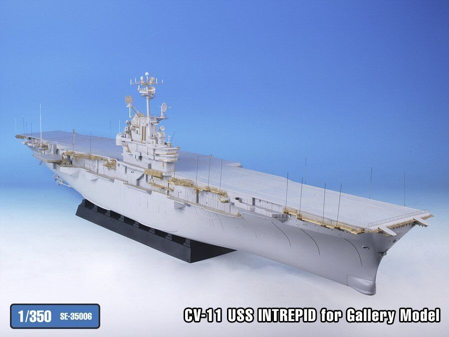 Tetra Model 1 350  SE-35006 USS Intrepid CV-11 Detail Up Set for Gallery Models