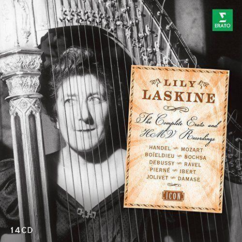 Lily Laskine - lily laskine - Complete Erato NEW CD