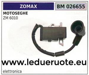 BOBINA ELETTRONICA centralina MOTOSEGA ZOMAX ZM 6010