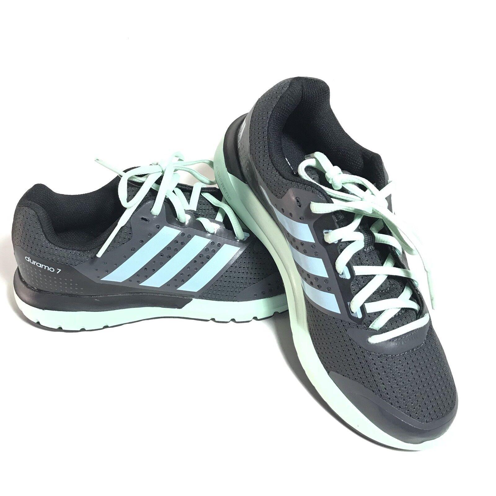 Adidas männer m duramo 7 m männer laufschuhe b33550 grau und schwarz / grün und blau größe 6,5 s 9de2e3