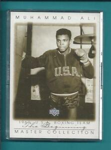 2000 Upper Deck Master Collection #2 Muhammad Ali The Legend # 087/250