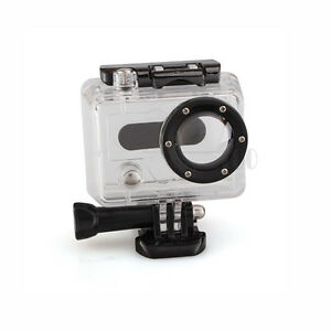 Underwater Transparent Waterproof Housing Case Cover For GoPro Hero 2/1 Camera
