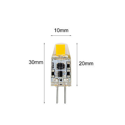 WOW - 2W G4 COB Led Bulbs SMD Light Lamps Replace Halogen bulb DC/AC 12V