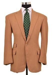b1059b81b4c Image is loading Polo-Ralph-Lauren-Golden-Brown-Woven-Cotton-CASHMERE-