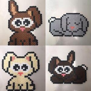 Détails Sur Pixel Art Perles A Repasser Petits Bebes Lapins