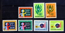 United Nations, NY MNH, 3 Sets, Education, Development, Funds -