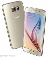 Samsung Galaxy S6 Sm-g920f Gold (factory Unlocked) 5.1 Qhd, 32gb, 3gb Ram