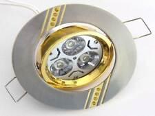 Supporto per Faretto LED incasso MR16 - GU10 alluminio lampadina dorato oro SD
