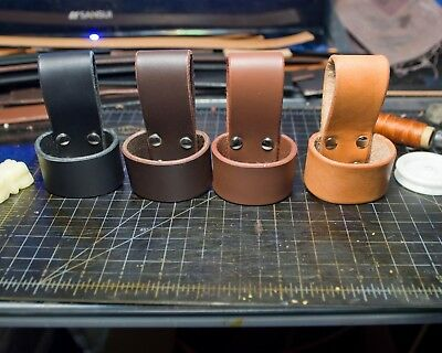 Leather Ax Belt Loop Handmade in USA Heavy Duty Leather
