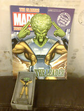 CLASSIC MARVEL FIGURINE COLLECTION 69 THE LEADER FIGURE BOXED WITH MAG