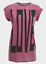 Ex NEW LOOK Raspberry Pink Acid Wash /'Love/' Logo Rolled Sleeve T-shirt Size 8-12