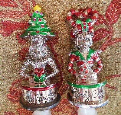 Christmas Bottle Stoppers NEIMAN MARCUS Christmas Bottle Stoppers