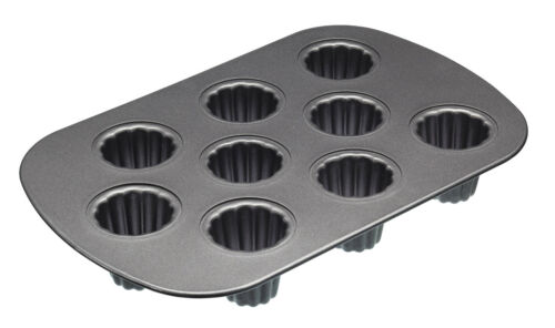 holes 5x5cm masterclass kitchencraft non-stick Nine Hole Canele Pan 32.5x22cm