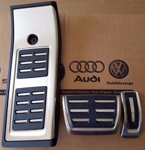 Audi q5 à partir de 2017 Original S-Line Pedalset sq5 Pédales Pédale Casquettes Repose-pieds pad