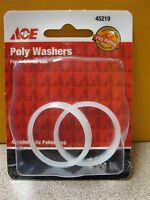 Ace Hardware Poly Washers 45219 2 Pack 1-1/4 Free Shipping