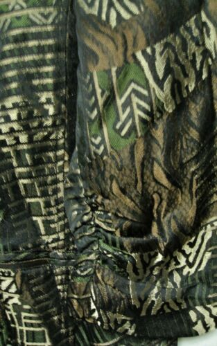CHICO/'S JUNGLE JACQUARD JAYMEE JACKET OLIVE NWT $125 CHICOS SIZE 2 =12//14