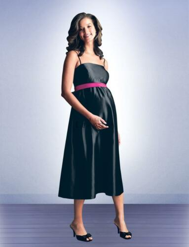Bill Levkoff Bridesmaid Dress 9100 Prom Wedding Long Gown Maternity Pregnant NEW
