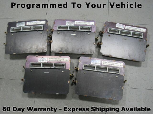 99 Jeep Grand Cherokee 4.0L ECU ECM PCM Engine Computer 56041423 423 PROG