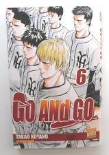 MANGA GO AND GO n° 6 TAKAO KOYANO EDITION FRANCAISE PUNCH COMICS