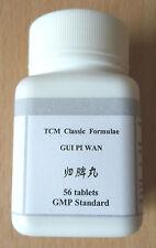 2 paquetes Gui Pi Tang Pian Wan Hierbas para INSOMNIO Palpitación Nerviosismo