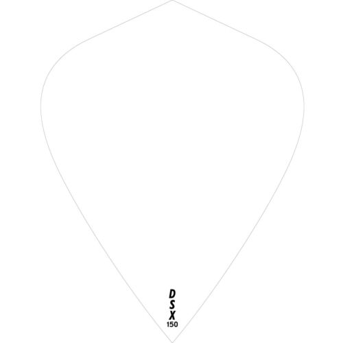 DSX 150 Plain Tough Dart Flights Designa Kite Shape 1-10 Sets Super Thick