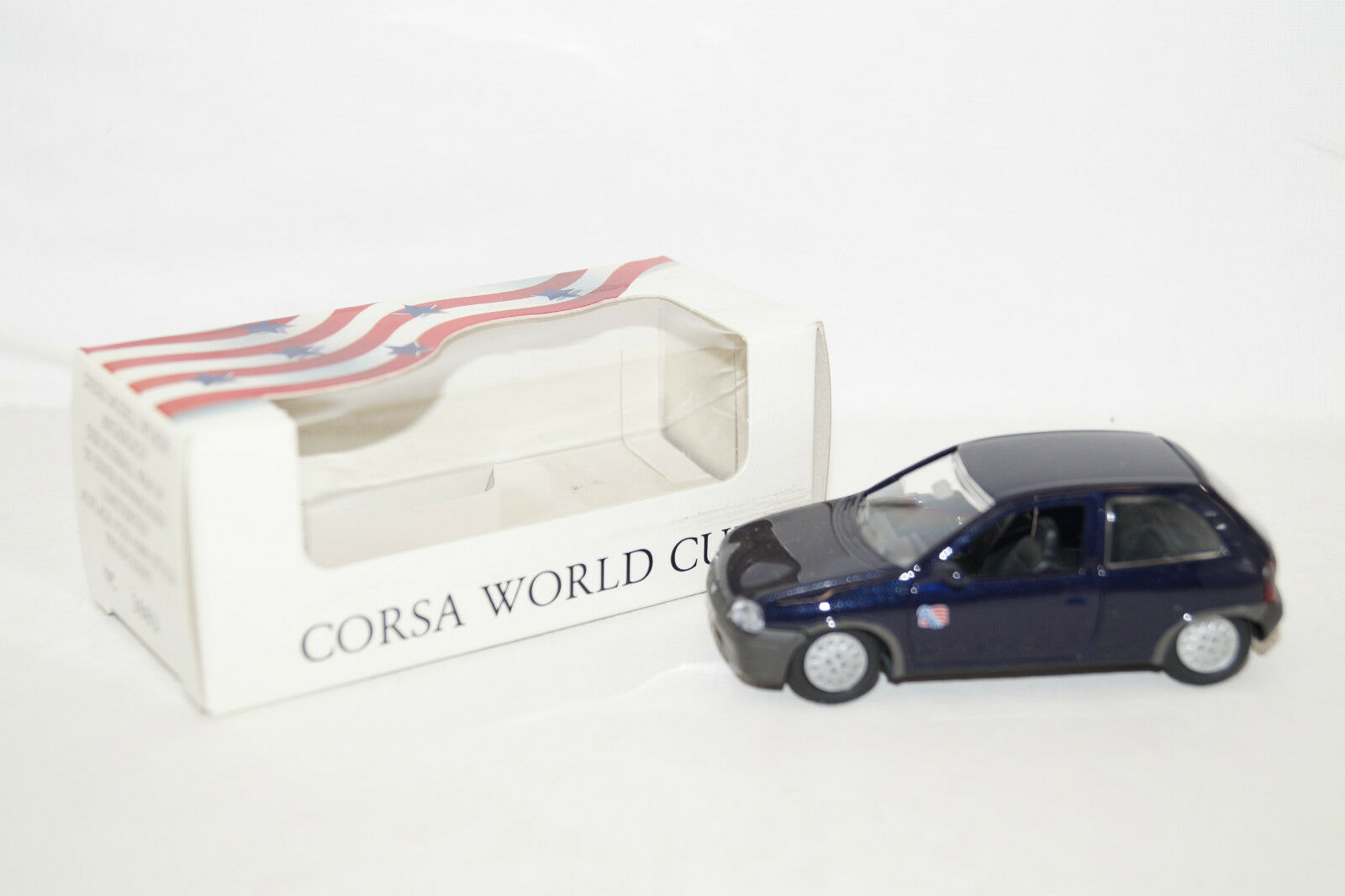 GAMA OPEL CORSA CORSA CORSA WORLD CUP Sondermodell WM 1994 USA dunkelblau 1 43 48b851
