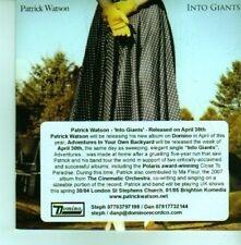 (CX945) Patrick Watson, Into Giants - 2012 DJ CD