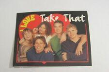 ADESIVO anni '90 vintage / Old Sticker TAKE THAT (cm 10 x 8)