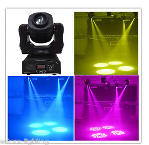 Wonsung-Party-DJ-Dance-stage-RGBW-4in1-60W-Spot-GOBO-beam-LED-Moving-Head-Light