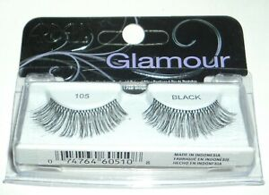e677d4fc2a8 Image is loading ARDELL-1-Pair-of-False-Eyelashes-Glamour-BLACK-