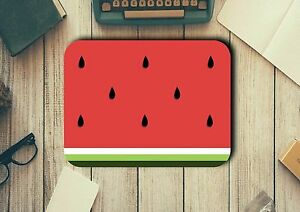 Watermelon Slice Mouse Pad Easy Glide Non Slip Tough Neoprene Great Gift Ideas