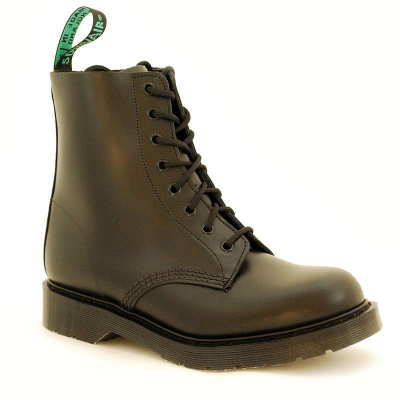 Descuento de la made marca Solovair NPS Shoes made la en Inglaterra 8 Eye Black bote s067-s8551bkb02 0f8204