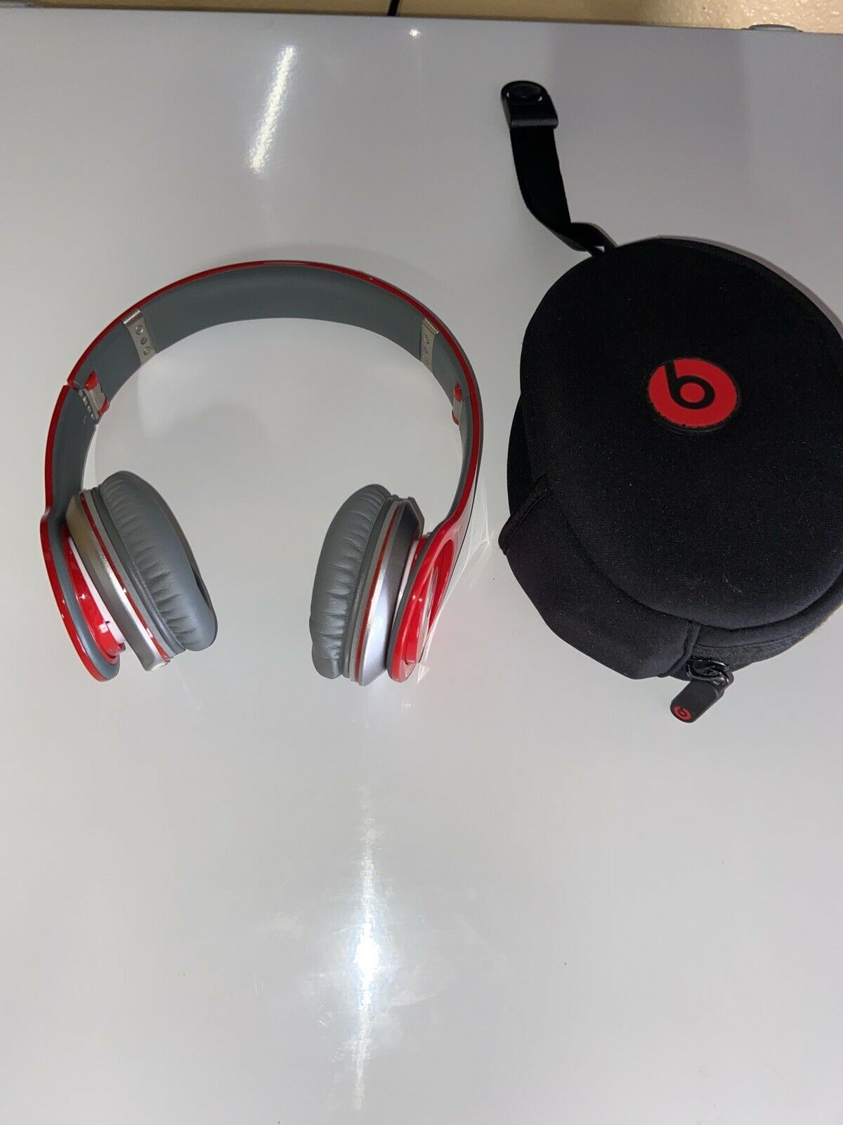 Beats Solo Hd Red Special Edition On Ear Wired Headphones For Sale Online