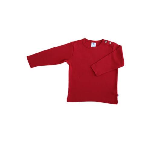 LEELA COTTON Baby//Enfants Manches Longues-Shirt coton biologique