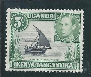 Kenia, Uganda & Tanganyika - 1938 Kg V cinco centavos definitiva-Sin Montar Como Nuevo