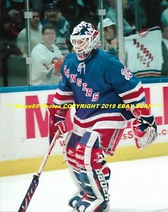 info for 1ee5b be695 Details about MIKE RICHTER Skates By Rangers Suck Jersey 8x10 Photo NEW  YORK RANGERS GOALIE