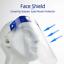 Safety Clear Full Face Shield Isolation Visor Eyes Protector Anti-Fog Dustproof