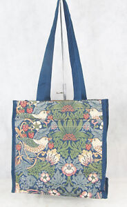 c4eb689aab Image is loading Tapestry-Stawberry-Thief-Bird-Shopper-Tote-Bag-Signare