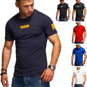 Jack-amp-Jones-T-Shirt-Hommes-O-Neck-Print-Shirt-Casual-Streetwear-Basic-Shirt