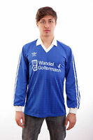 ADIDAS Vintage 80s MADE IN ITALY Football Long Sleeved Football Jersey Shirt XL