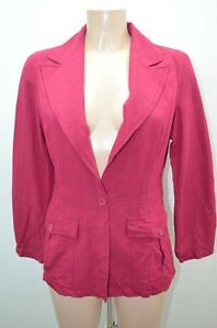 Kookai Violet Ebay 40 Chaqueta Blazer Jacket Veste L T40 wAwqHTzF